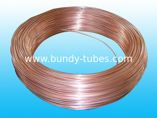 Double Wall Bundy Tube 3.18 * 0.5 mm , Low Carbon Steel Strip