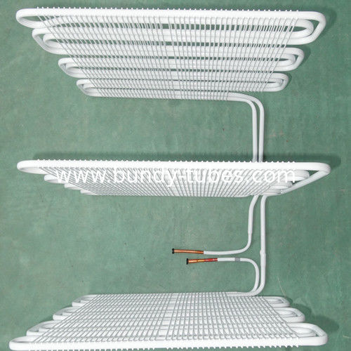 Wire Tube Copper Coated Bundy Tube Evaporators Be Use In Refrigeration