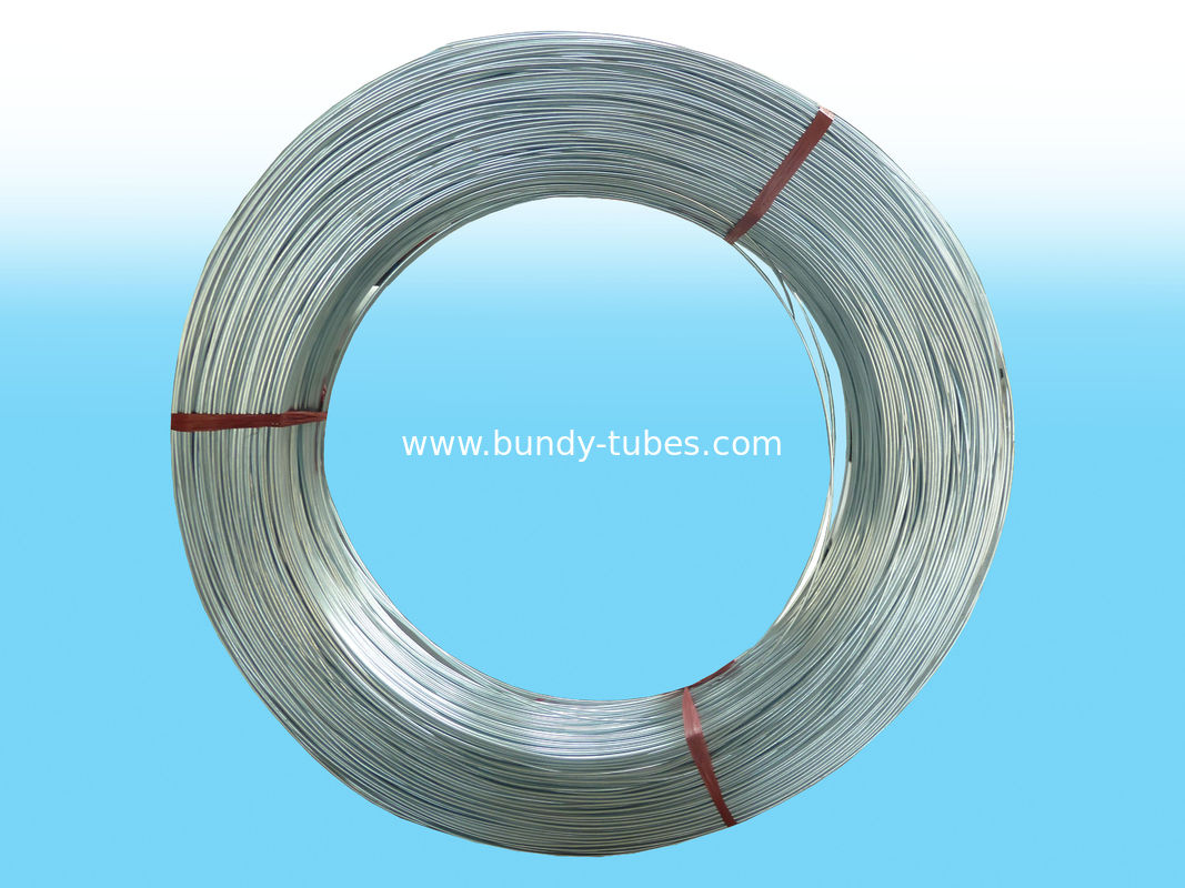 Environmental Coating Zn Pipe / Galvanized Steel Tube For Cooling System
