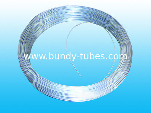 Custom Galvanized Bundy Pipe 8 * 0.7 mm , Soft And Easy To Bend