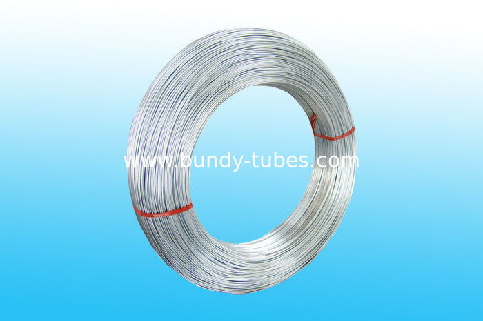Round Welded Zn Coated Bundy Pipe 4.2 * 0.5 mm Low Carbon