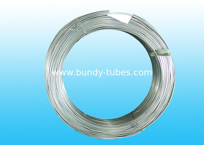 Bundy 8mm Steel Tube , Electric Zn Coated & Galvanized Steel