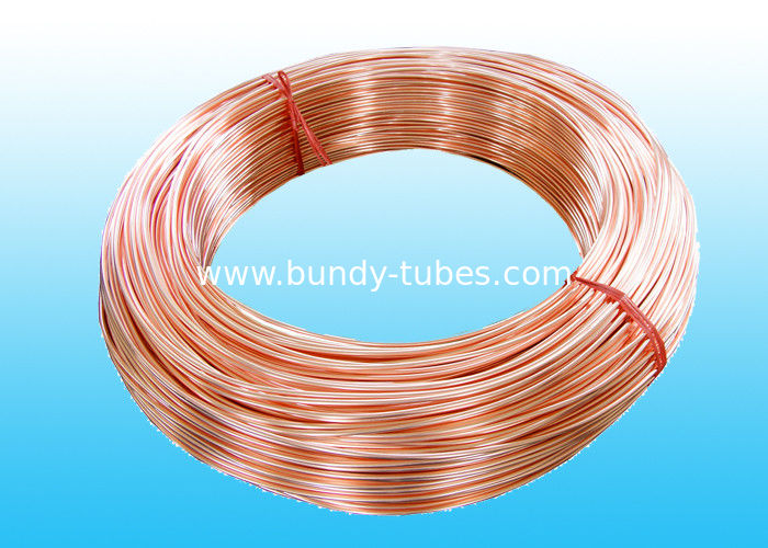 Copper Coated Bundy Tube with Good Welding Performance 6mm X 0.7mm