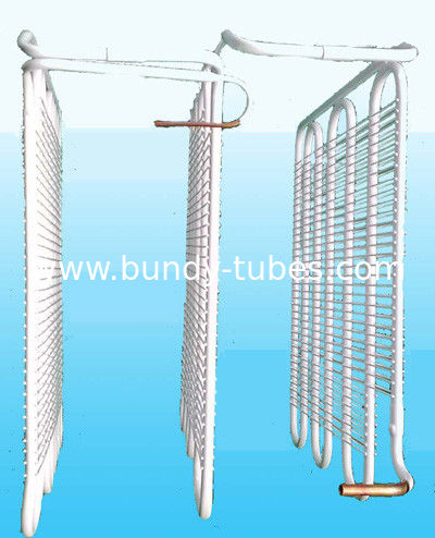 Wire On Tube Refrigerator Evaporator With 0.6mm Thickness