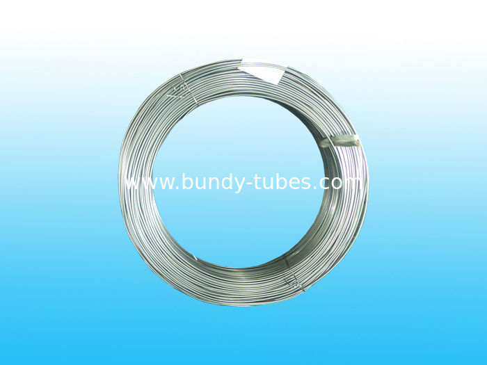 Zn Plating Bundy Pipe For Chiller And Heaters 4.2 * 0.6 mm